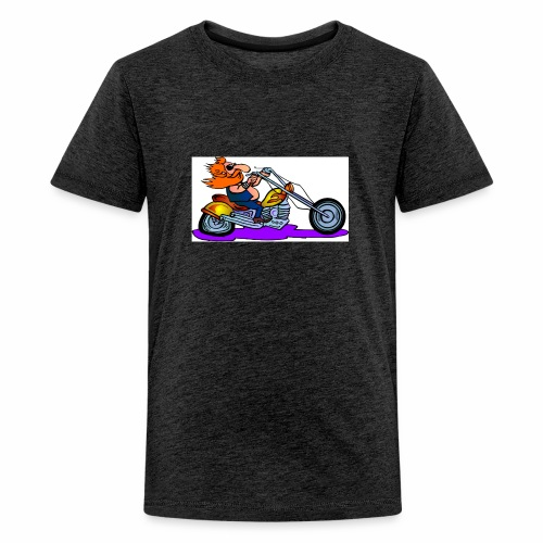 Bike 1 - Teenage Premium T-Shirt