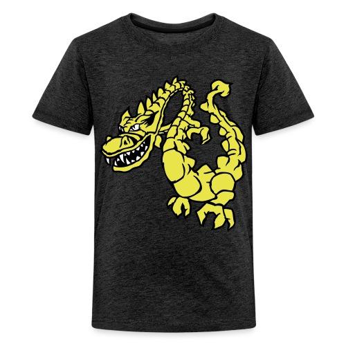 Drache 2 - Teenager Premium T-Shirt
