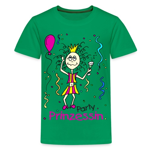 Party Prinzessin - Teenager Premium T-Shirt