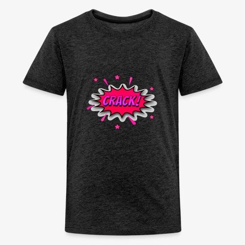 Dibujos Animados 02 - Camiseta premium adolescente