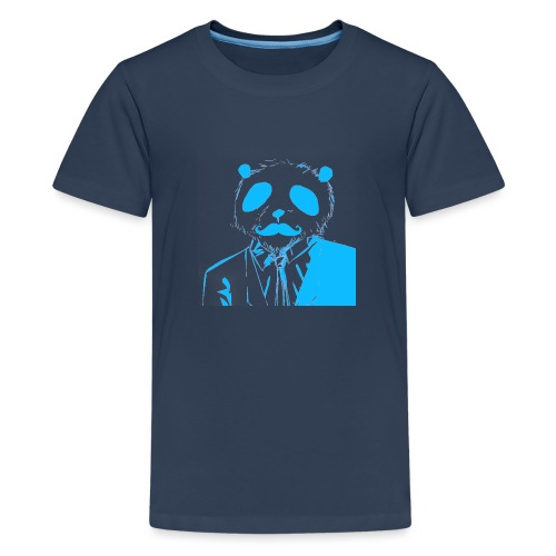 BluePanda Logo - Teenage Premium T-Shirt