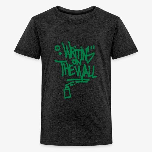 writing on the wall - T-shirt Premium Ado