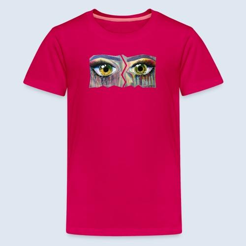 Open Eyes Berlin PopArt ickeshop BachBilder - Teenager Premium T-Shirt