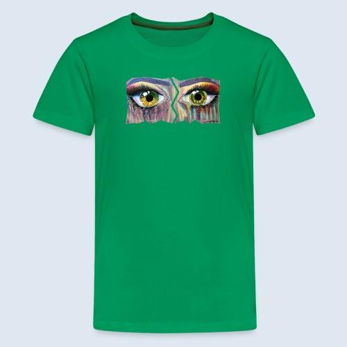 "Augenblick ""open eyes"" made in Berlin - Teenager Premium T-Shirt"