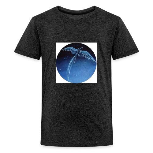 Oiseau Bleu 1 - T-shirt Premium Ado