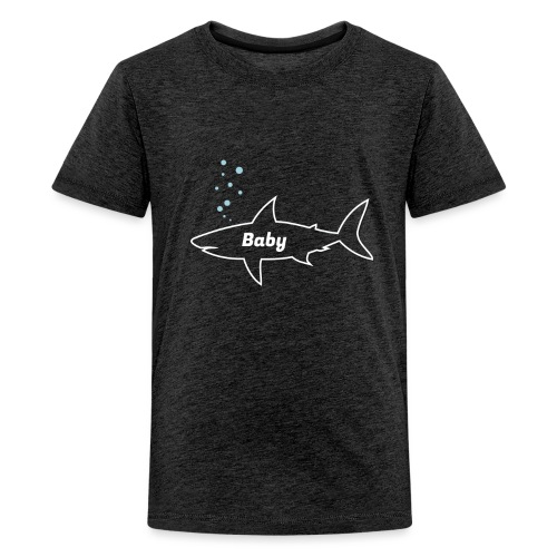 Baby shark - Fathers Day gift - Matching outfit - Teenager Premium T-Shirt