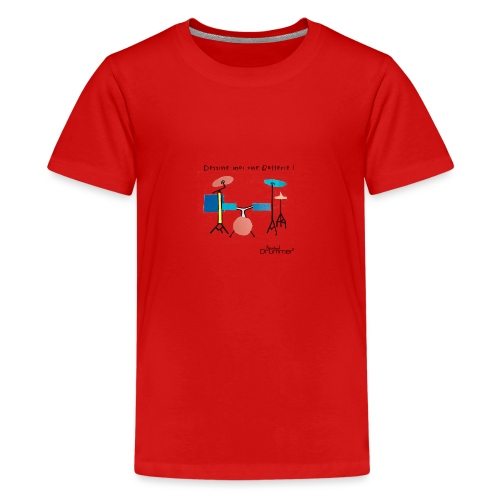 Azia Drum - Teenage Premium T-Shirt