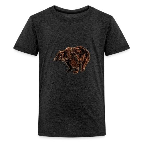 orso - Maglietta Premium per ragazzi