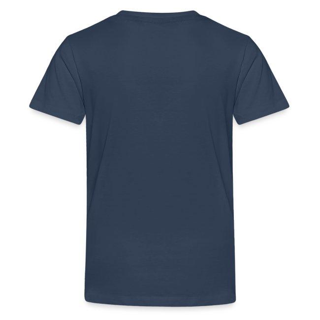 Vorschau: Ollas Wappla bis am Papa - Teenager Premium T-Shirt