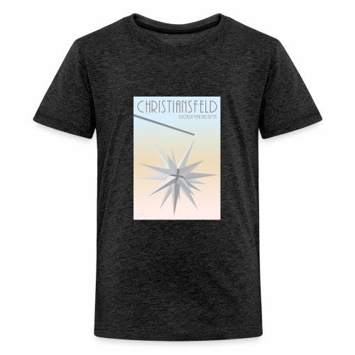 christiansfeld brødremeninghedsbyen - Teenager premium T-shirt
