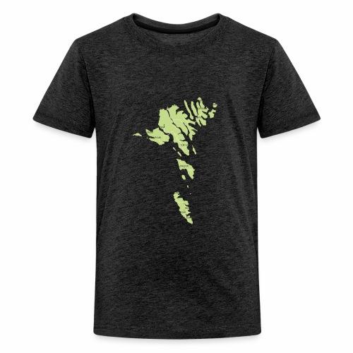 færøerne - Teenager premium T-shirt