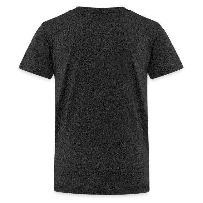 Vorschau: A Hirn wia a Nudlsieb - Teenager Premium T-Shirt