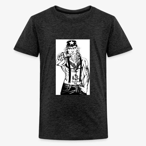 rebelle atitude - T-shirt Premium Ado