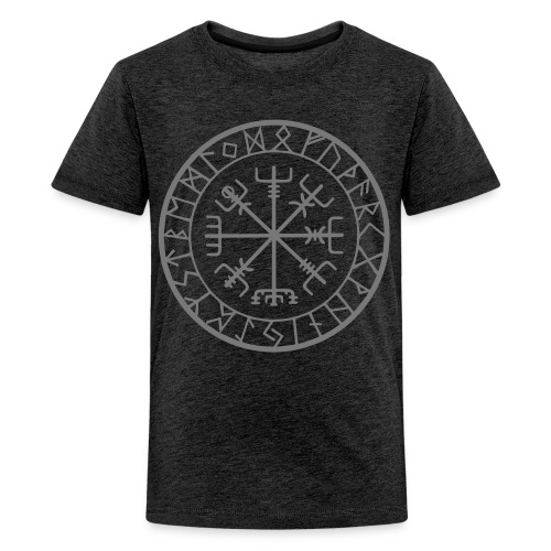 viking vegvisir runen - Teenager Premium T-shirt