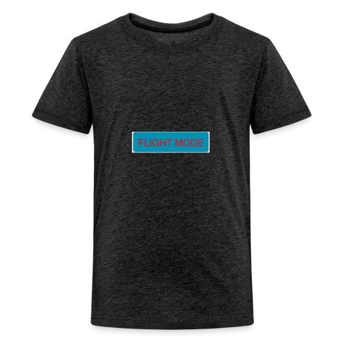 FLIGHT MODE - Premium-T-shirt tonåring
