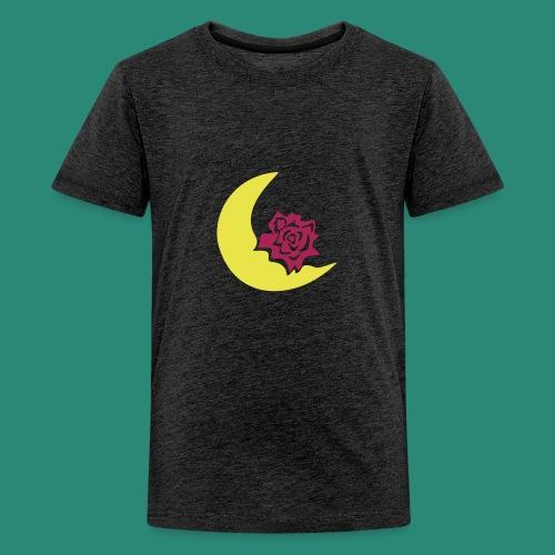 Mondblume svg - Teenager Premium T-Shirt