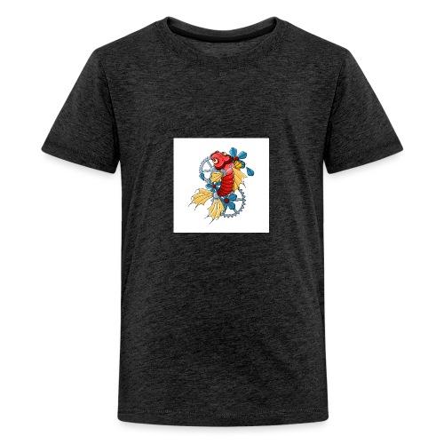 logo carpe mecanique - T-shirt Premium Ado
