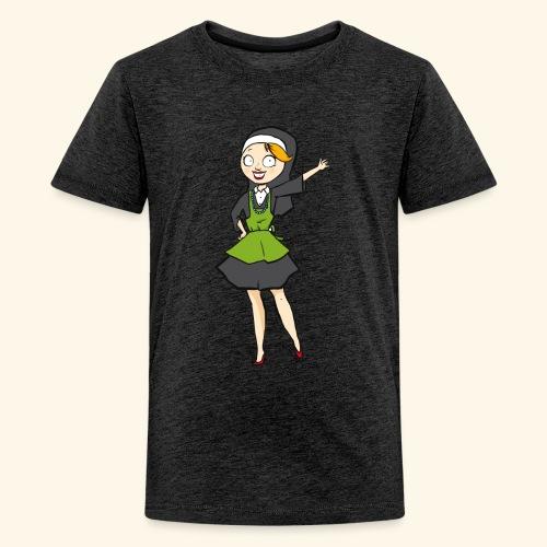 neutraal vrijstaand png - Teenager Premium T-shirt