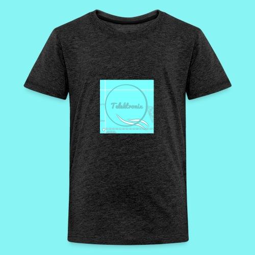 Telektronix Special Edition Logo - Teenage Premium T-Shirt