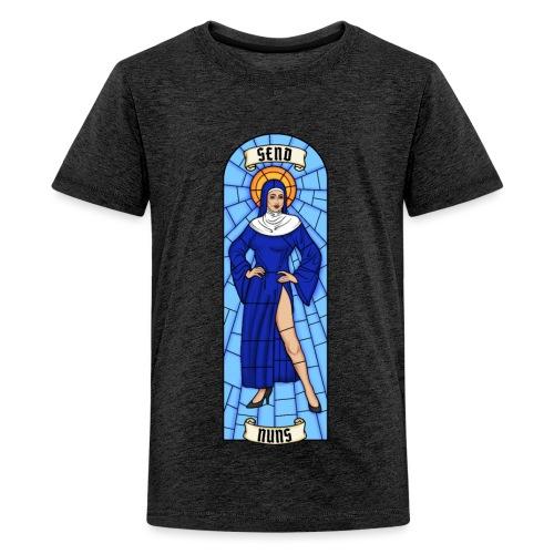 SEND NUNS - Koszulka młodzieżowa Premium