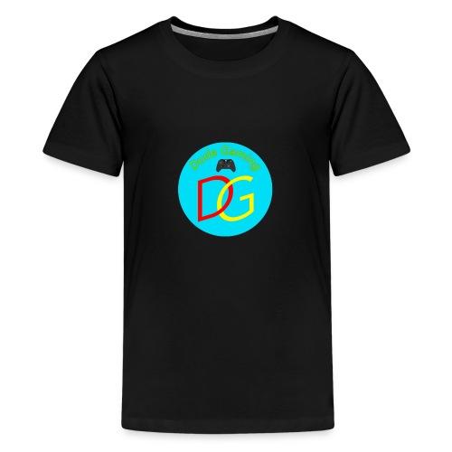 Dude Gaming - Teenager premium T-shirt