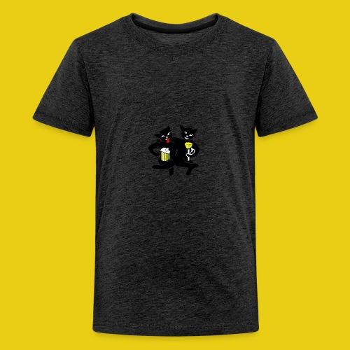 katzenshirt - Teenager Premium T-Shirt