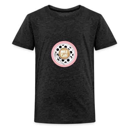 Milfcafé - MILF Logo Instagram Blogger Musthave - Teenager Premium T-Shirt