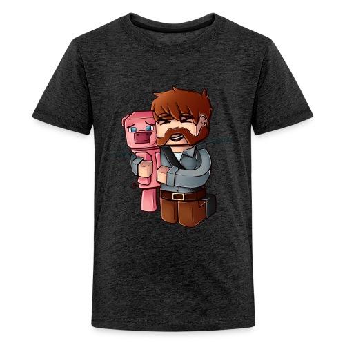 BaconNoBG png - Premium T-skjorte for tenåringer