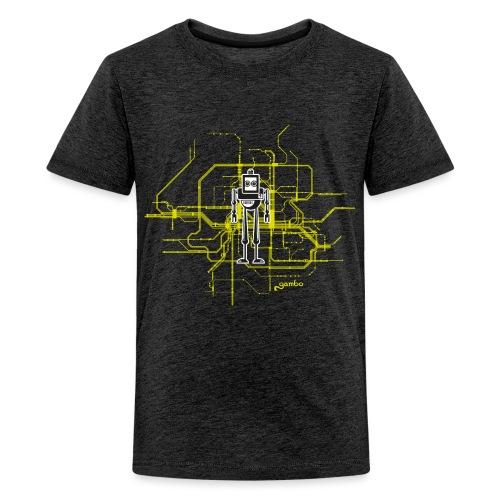 gambots roboter 09 - Teenager Premium T-Shirt