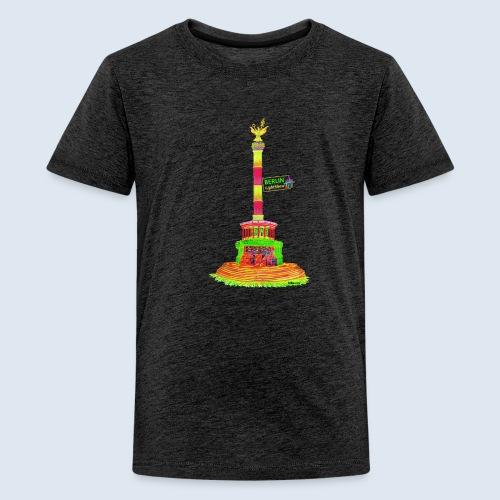 Siegessäule Berlin PopArt ickeshop BachBilder - Teenager Premium T-Shirt