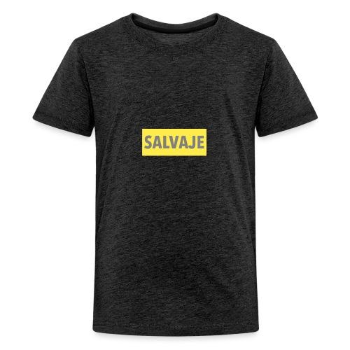 SALVAJE - Camiseta premium adolescente