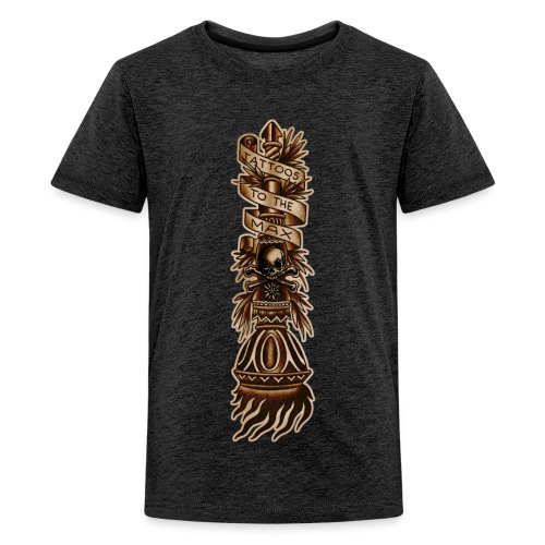 Torch Fackel Tattoos to the Max - Teenager Premium T-Shirt