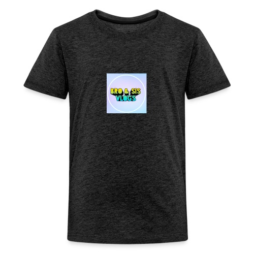 Bro & sis vlogs merch - Teenage Premium T-Shirt
