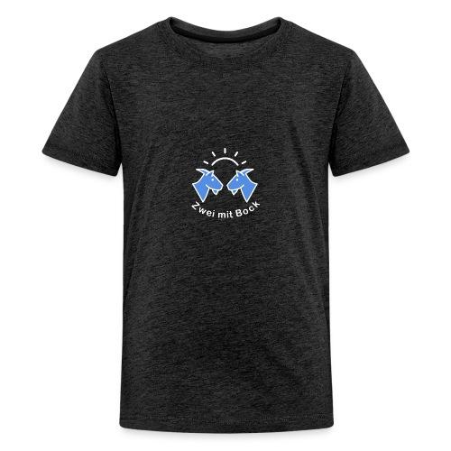 Zwei mit Bock - Original - Teenager Premium T-Shirt