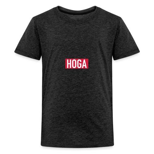 HOGAREDBOX - Premium T-skjorte for tenåringer