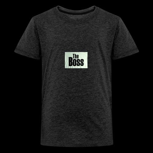 the boss - Teenage Premium T-Shirt