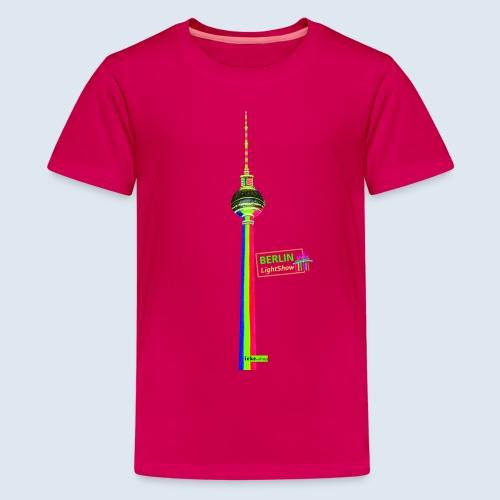 Fernsehturm Berlin PopArt ickeshop BachBilder - Teenager Premium T-Shirt