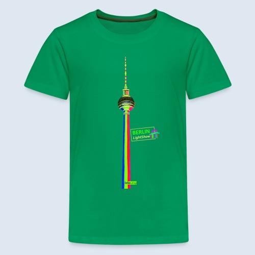 "Berliner Original ""Fernsehturm"" PopArt Design - Teenager Premium T-Shirt"