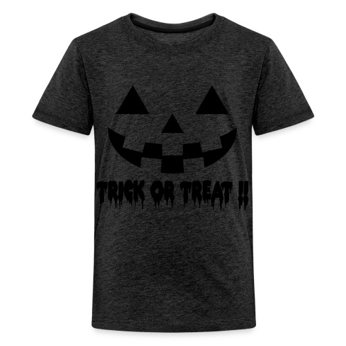 Trick or treat!! - Teenage Premium T-Shirt