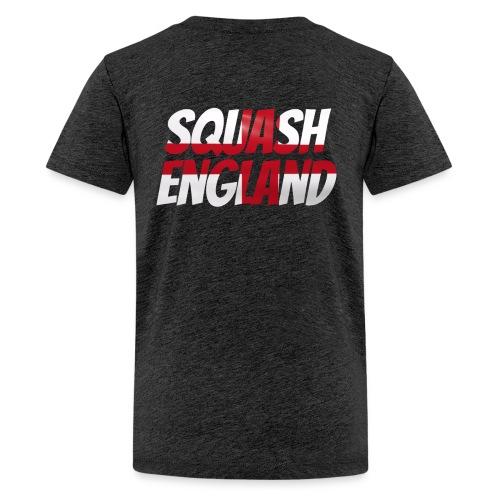 Squash England - Teenage Premium T-Shirt