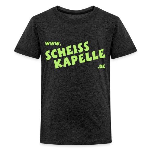 SCHEISSKAPELLE Logo - Teenager Premium T-Shirt