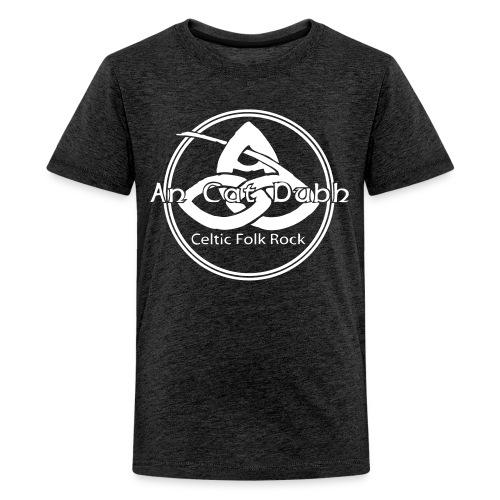 ancatdubh vektorlogo - Teenager Premium T-Shirt