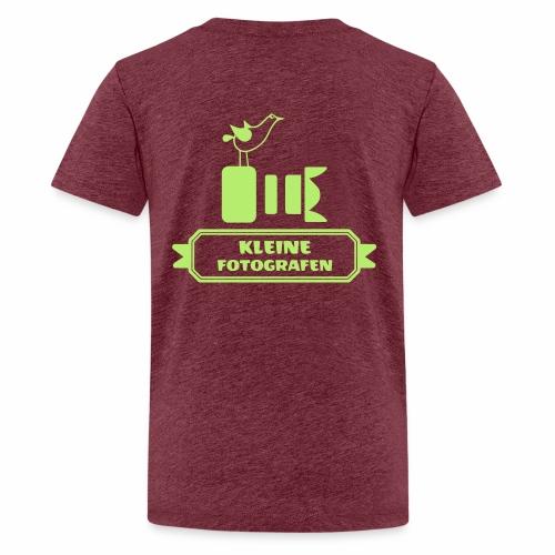 Kleine Fotografen AI SW - Teenager Premium T-Shirt