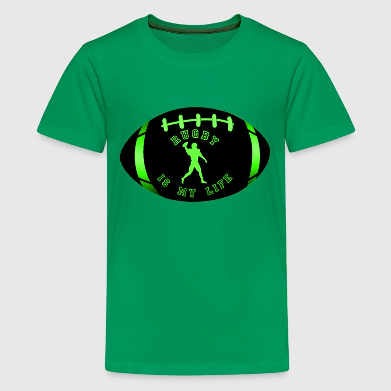 rugby is my life - Teenager Premium T-shirt