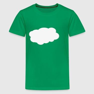 Skyen - Premium T-skjorte for tenåringer