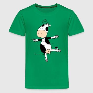 Mooviestars - Cow Pirouette - Teinien premium t-paita