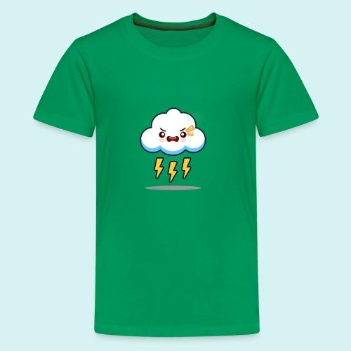 ¡Rayos otra nube! - Camiseta premium adolescente