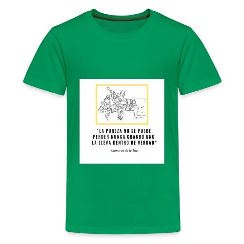 La PUREZA no se puede perder nunca - Teenage Premium T-Shirt