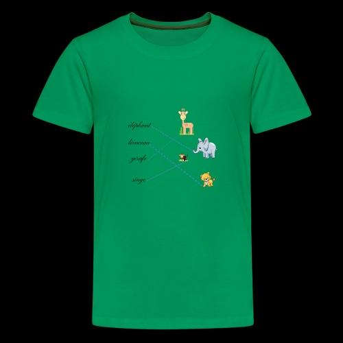 animaux de la savane. - T-shirt Premium Ado