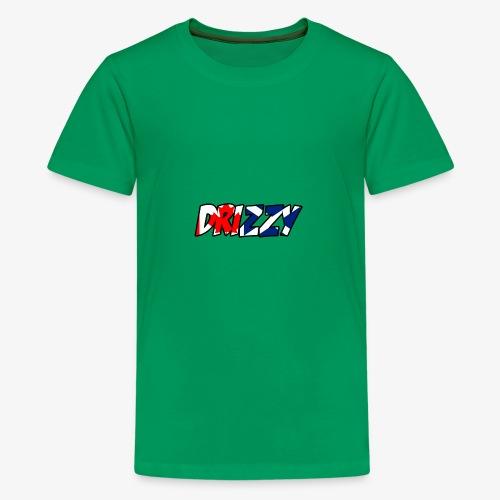Scotland And Canada Drizzy Logo - Teenage Premium T-Shirt